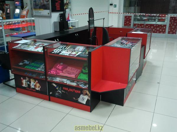 Дизайн-разработка и изготовление торгового оборудования в Актау
